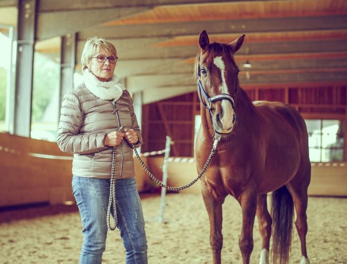 Pferd Frau Führungskräftetraining